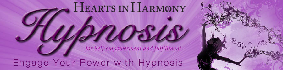 Old Hearts in Harmony web banner for Hypnosis